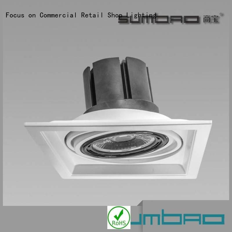 4 inch recessed lighting led housing dw066 LED Spotlight recessed SUMBAO