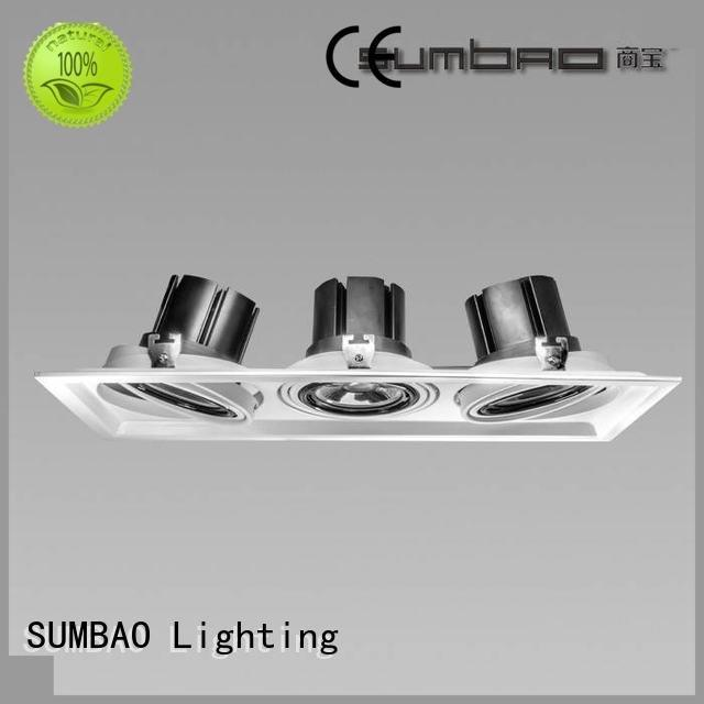 SUMBAO spotlight dw0312 LED Recessed Spotlight cob spots