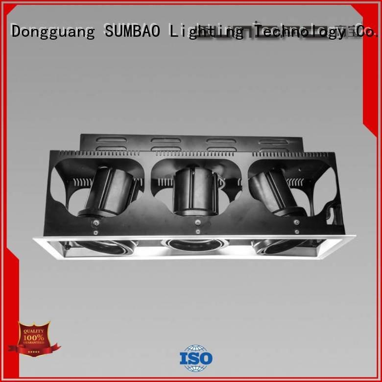 Hot 4 inch recessed lighting dw0721 LED Recessed Spotlight museums SUMBAO