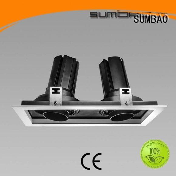 SUMBAO adjustable dw0421 wash 4 inch recessed lighting ceiling