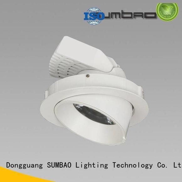 OEM 4 inch recessed lighting commercial spotlights low LED Recessed Spotlight