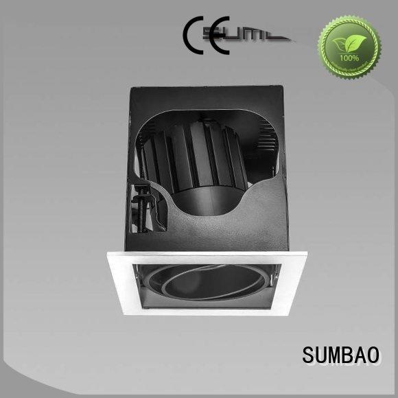 SUMBAO Brand dw069 dw073 grid LED Recessed Spotlight