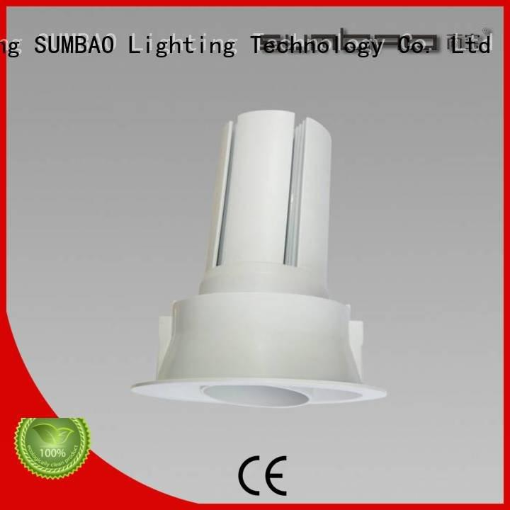 SUMBAO Brand desk highperformance LED Recessed Spotlight dw067 accent