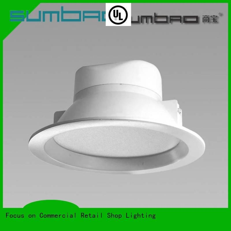 Custom 40w LED Down Light angle commercial led recessed downlights