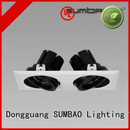 grid LED Recessed Spotlight SUMBAO 4 inch recessed lighting