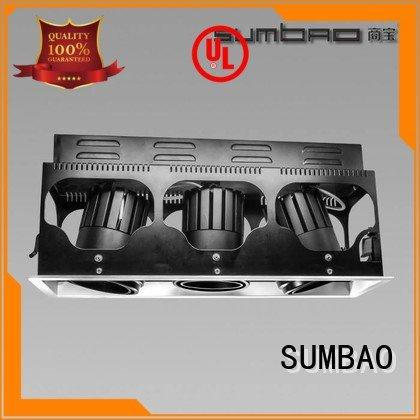 SUMBAO 5000K Specification grade AL dw069 4 inch recessed lighting multiple