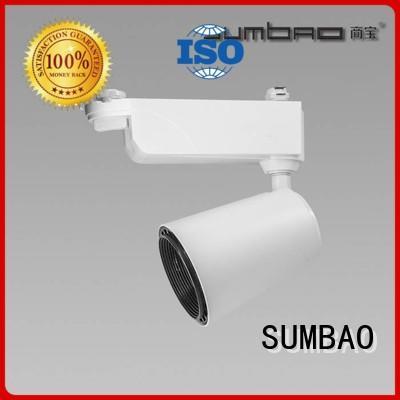 12°15°20° imported Dumb white LED Track Spotlight SUMBAO Brand company
