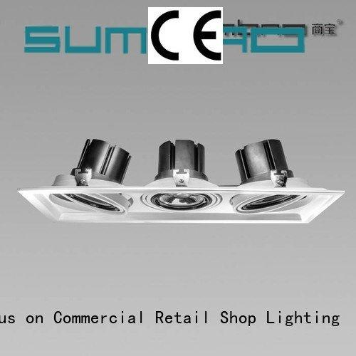 SUMBAO Exhibition room LED Recessed Spotlight dw0283 professional
