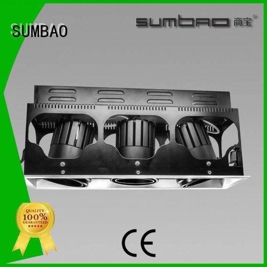 Quality 4 inch recessed lighting SUMBAO Brand dw0192 LED Recessed Spotlight