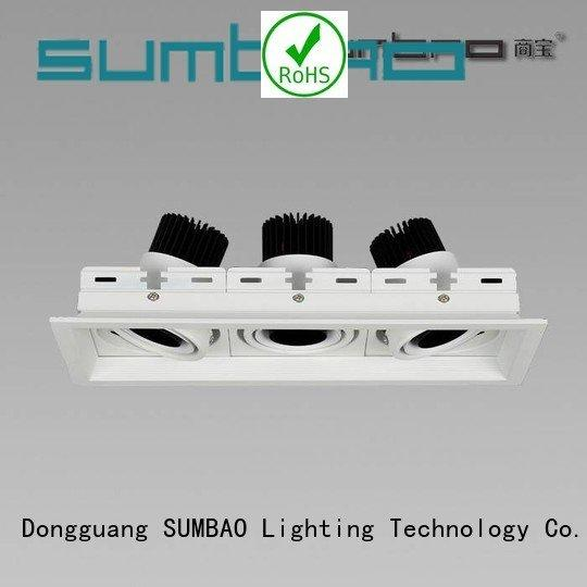 dw073 singlehead downlighting 2700K SUMBAO 4 inch recessed lighting