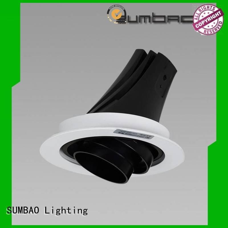 SUMBAO Brand Shopping center multiple 4 inch recessed lighting luminaires multihead