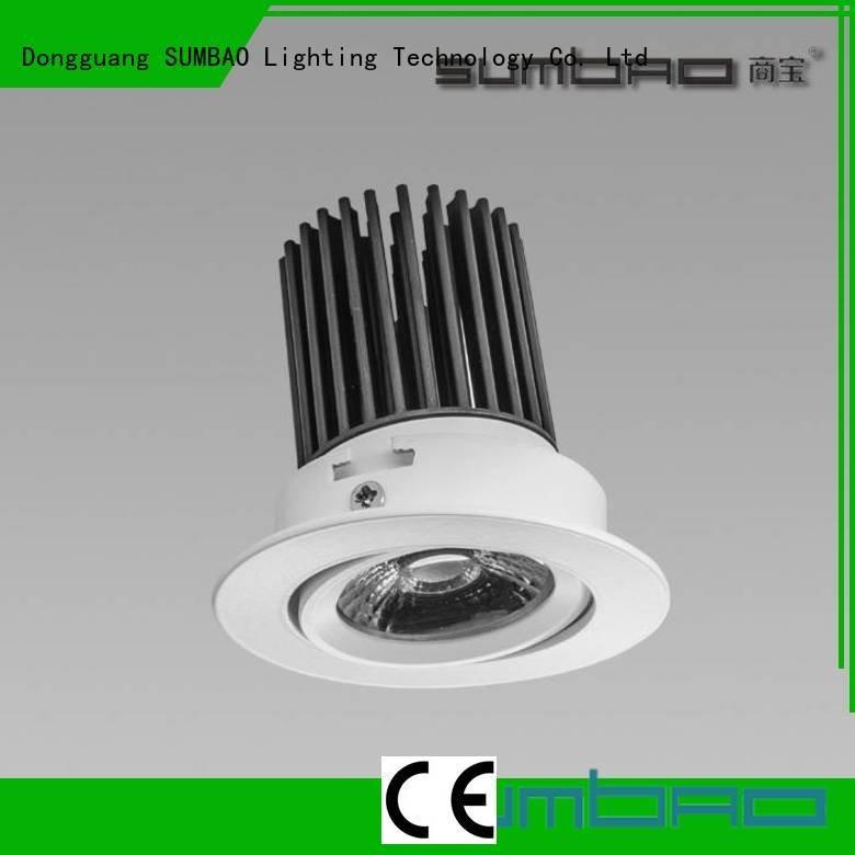 indoor recessed light bulbs head 5000K Exhibition room spotlight Bulk Buy