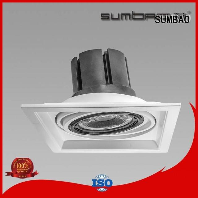 Hot 4 inch recessed lighting Shopping center LED Recessed Spotlight dw0522 SUMBAO