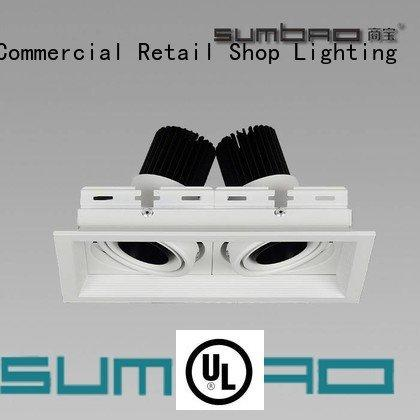 OEM 4 inch recessed lighting square adjustable dw0522 LED Recessed Spotlight