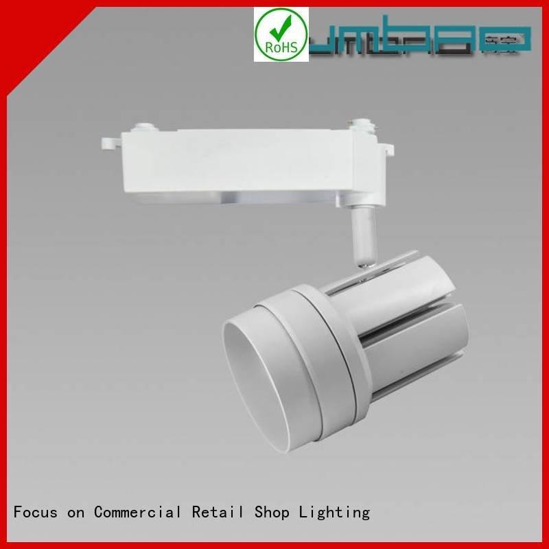 OEM flexible track lighting kits tk061 quality Dumb white LED Track Spotlight