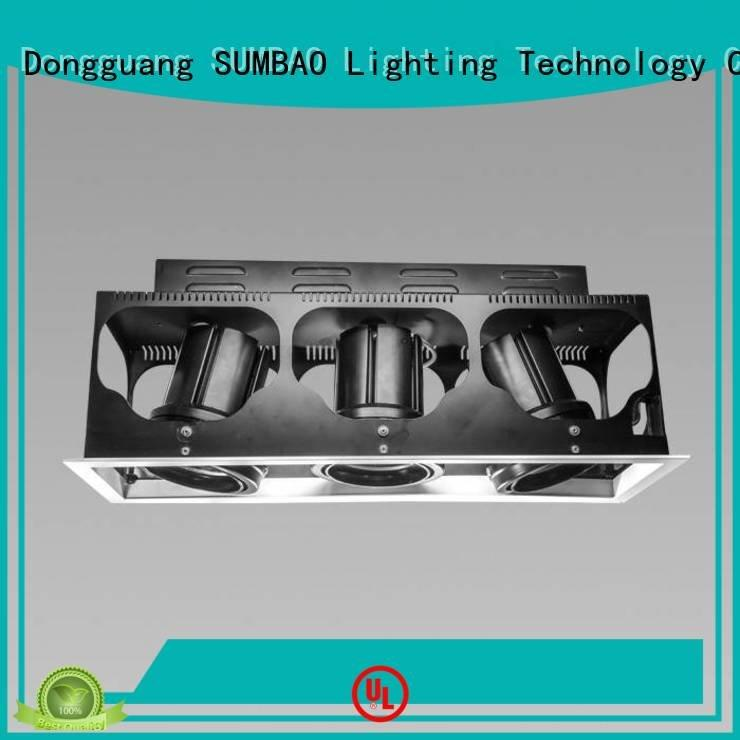 Quality 4 inch recessed lighting SUMBAO Brand dw0301 LED Recessed Spotlight