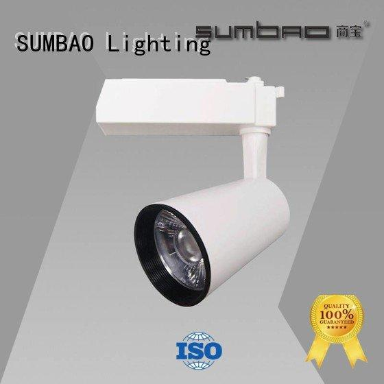 SUMBAO Brand quality Imported COB chip Dumb white LED Track Spotlight
