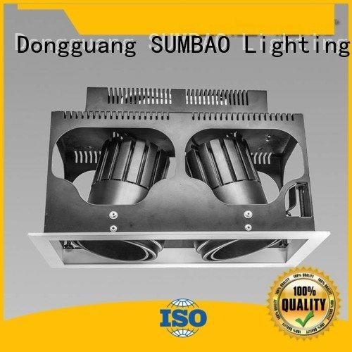 head recessed 3500K SUMBAO LED Recessed Spotlight