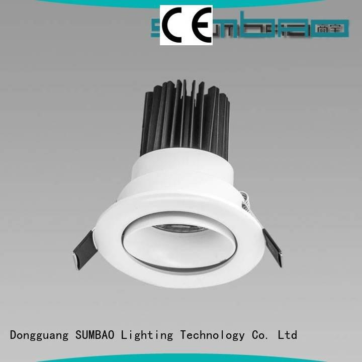 3x10W/3x18W dw034 4 inch recessed lighting SUMBAO