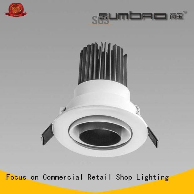 Quality 4 inch recessed lighting SUMBAO Brand application LED Recessed Spotlight