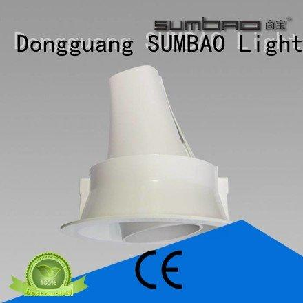 10w 485x180x147mm customized professional SUMBAO LED Recessed Spotlight