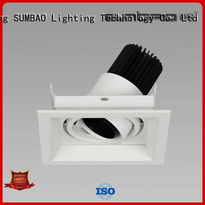 SUMBAO Brand voltage 20° 4 inch recessed lighting 12° spotlight