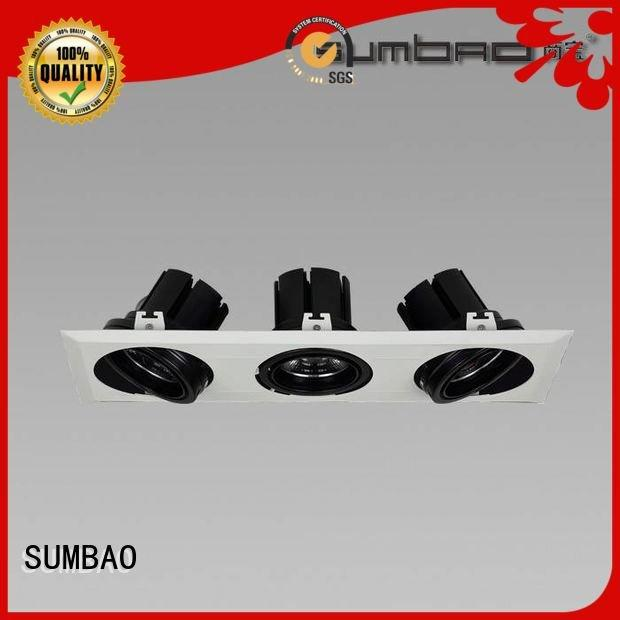 SUMBAO LED Recessed Spotlight ceiling round Clothing store reccessed