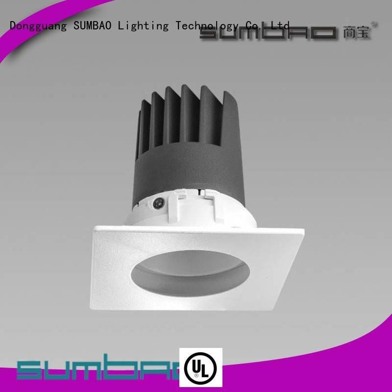 Wholesale dw0422 multihead LED Recessed Spotlight SUMBAO Brand