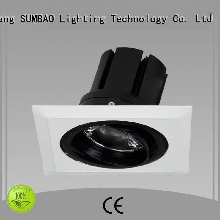 Custom LED Recessed Spotlight low 15° dw0723 SUMBAO