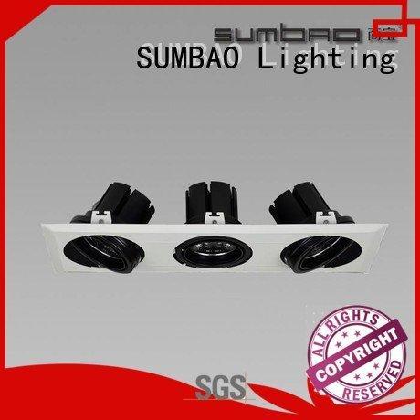 OEM LED Recessed Spotlight lamp multihead 4 inch recessed lighting