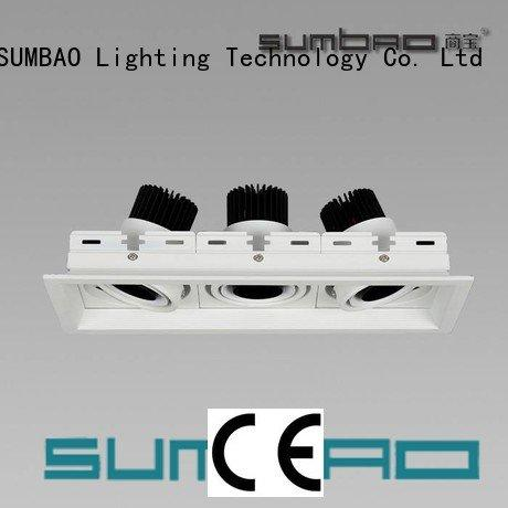 Wholesale 4000K Shopping center LED Recessed Spotlight SUMBAO Brand