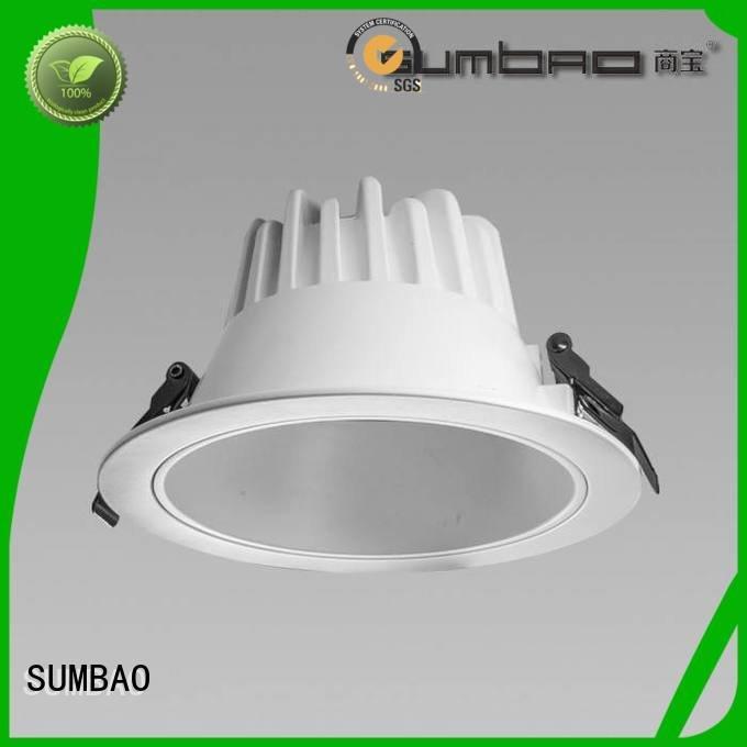 SUMBAO Clothing store LED Down Light showcase angle
