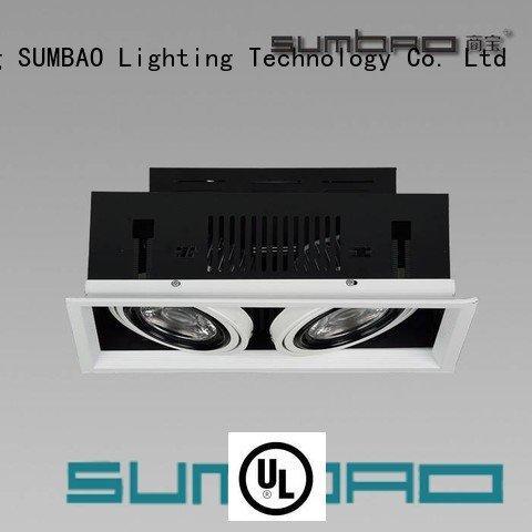 SUMBAO angled recessed lighting 33° professional dw075