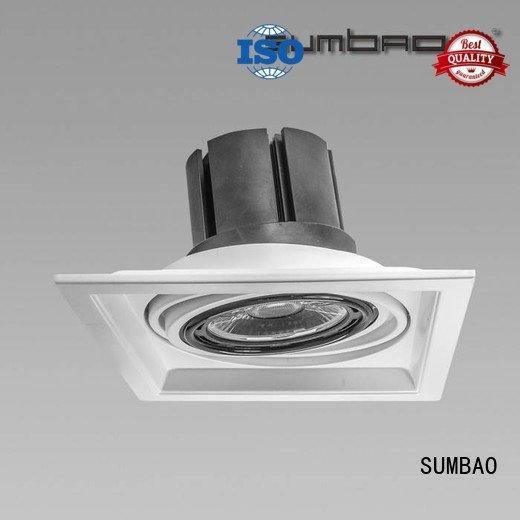 luminaries dw0191 customized 4 inch recessed lighting SUMBAO