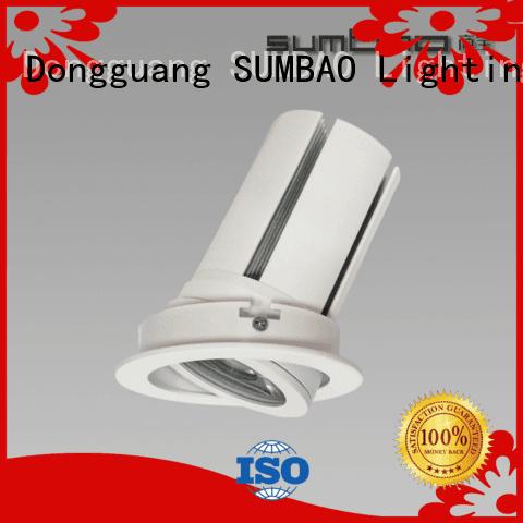 SUMBAO 4 inch recessed lighting spotslow dw085 voltage 12°