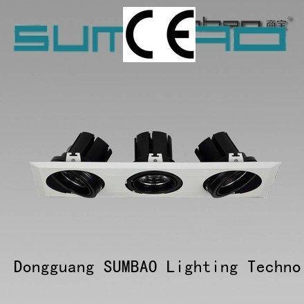 4 inch recessed lighting multihead LED Recessed Spotlight 4000K