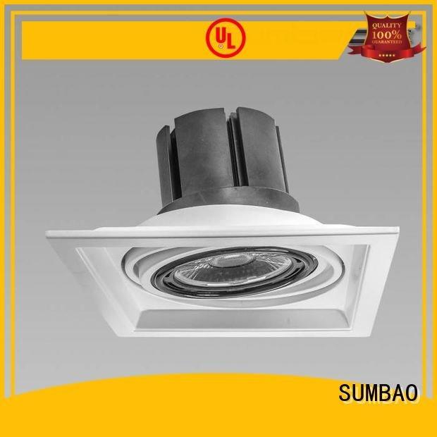 Exhibition room ceiling adjustable 4 inch recessed lighting SUMBAO