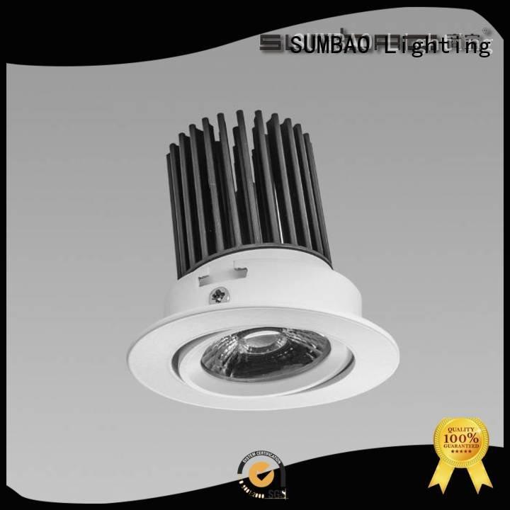 4 inch recessed lighting square adjustable LED Recessed Spotlight