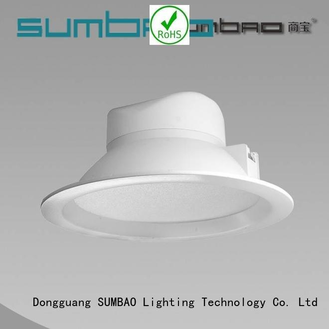 Custom LED Down Light beam ideal Matte White SUMBAO