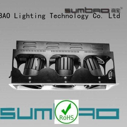 SUMBAO dw073 LED Recessed Spotlight professional dw0723