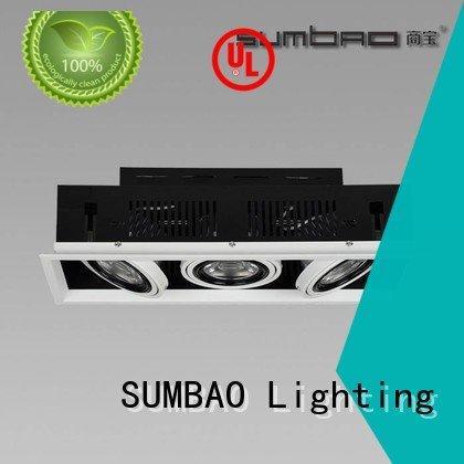 reccessed grid dw066 head SUMBAO 4 inch recessed lighting