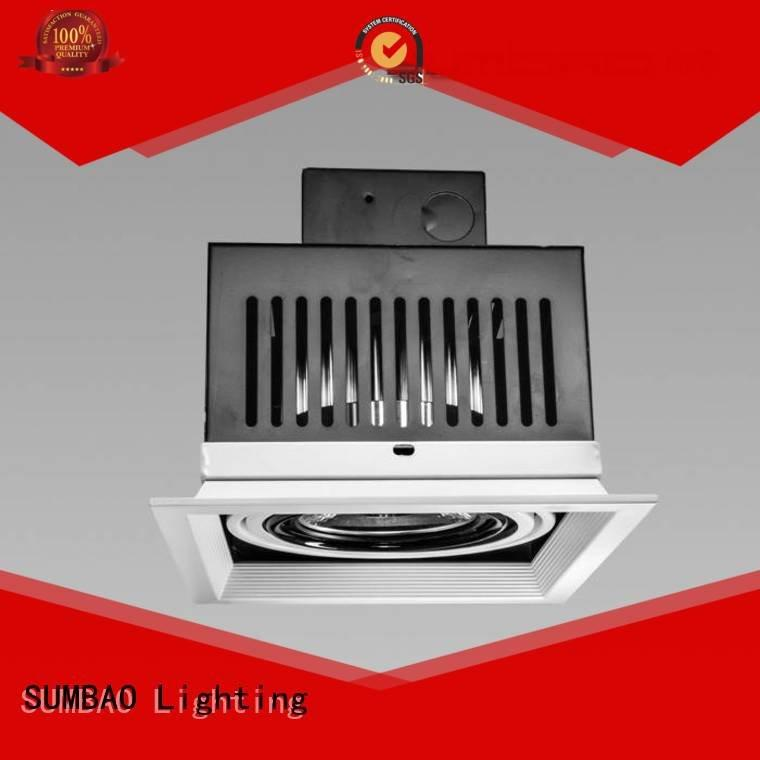 SUMBAO cree 485x180x147mm Furniture store 4 inch recessed lighting 3500K