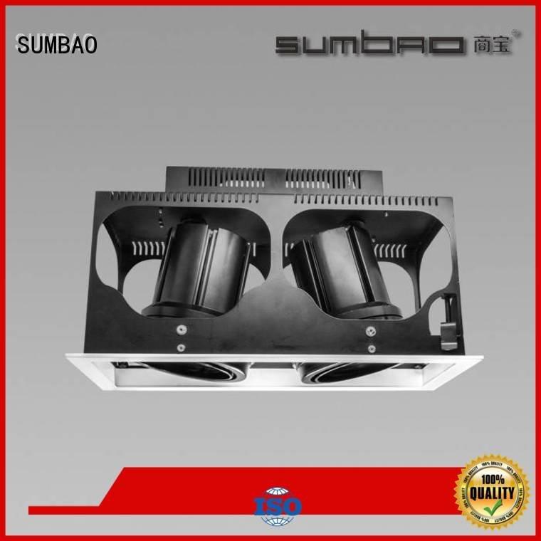 SUMBAO LED Recessed Spotlight 465x155mm trim residences voltage