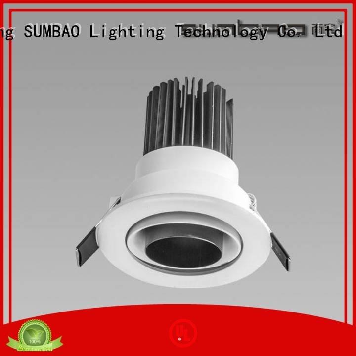 4 inch recessed lighting dw0281 professional OEM LED Recessed Spotlight SUMBAO