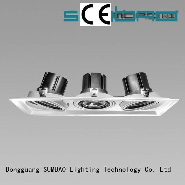 4 inch recessed lighting cob Specification grade AL dw0421 SUMBAO