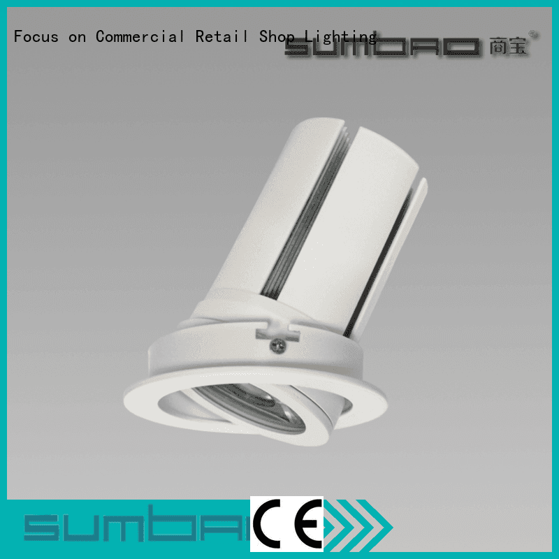 Quality shallow recessed lighting for sloped ceiling SUMBAO Brand dw0311 LED Spotlight