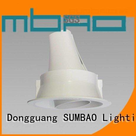 Hot 4 inch recessed lighting customized spotslow hotels SUMBAO Brand