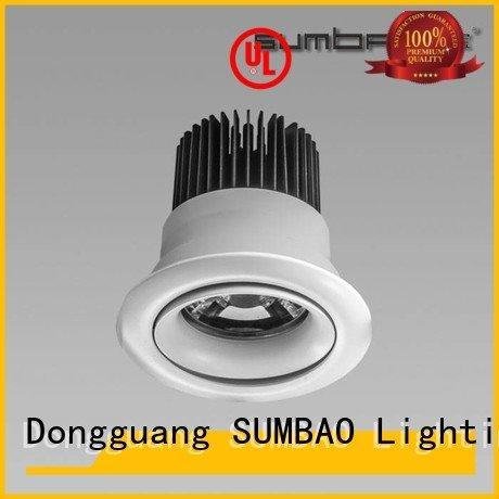 SUMBAO 4 inch recessed lighting Shopping center head spotslow single