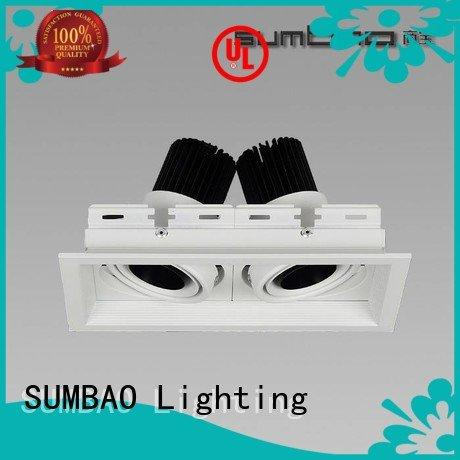 SUMBAO Brand commercial dw069 4 inch recessed lighting dw0661 dw0152