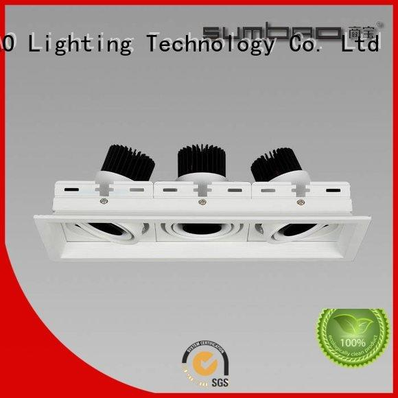 SUMBAO Brand 24w dw076 voltage LED Recessed Spotlight